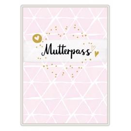 Mutterpasshülle - Mutterpass (rosa)