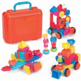 HCM Kinzel - Bristle Blocks 85 Teile im Koffer