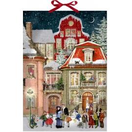 In der Weihnachtsgasse, Wand-Adventskalender (Behr)
