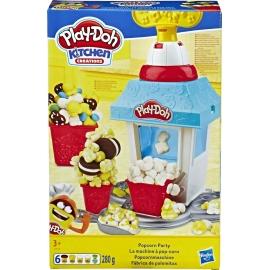 Hasbro - Play-Doh - Popcornmaschine mit 6 Dosen Play-Doh