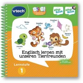 VTech - MagiBooks - Lernstufe 1 - Englisch lernen mit unseren Tierfreunden 3D