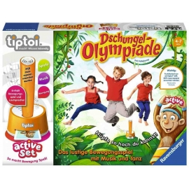 Ravensburger Spiel - tiptoi - active Set Dschungel-Olympiade