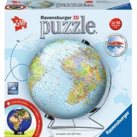 Ravensburger 111596 Puzzleball Globus deutsch 540 Teile