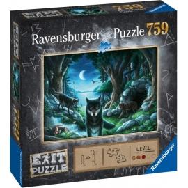 Ravensburger 150281 Puzzle EXIT 7: Wolf 759 Teile
