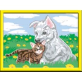 Ravensburger 284870 Malen nach Zahlen Süße Tierkinder