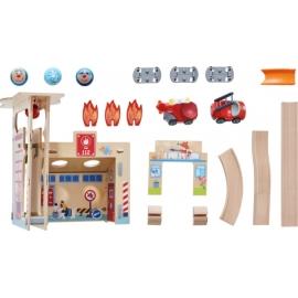 HABA® Kullerbü  Spielbahn Feuerwehrwache