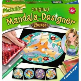Ravensburger 297610 Metallic Mandala-Designer Horses