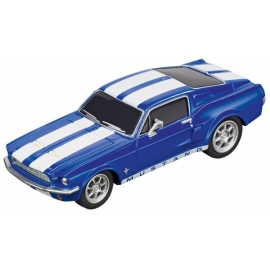 CARRERA GO!!! - Ford Mustang  67 - Racing Blue