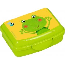 Mini-Snackbox Frosch  Freche Rasselbande