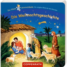 Die Weihnachtsgeschichte (13 x 13 cm) Der kl. Himmelsbote