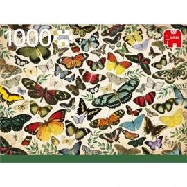 Jumbo Spiele - Schmetterlings Plakat - 1000 Teile