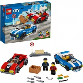 LEGO® City - 60242 Festnahme auf der Autobahn