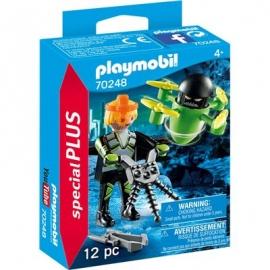 Playmobil® 70248 - Special Plus - Agent mit Drohne