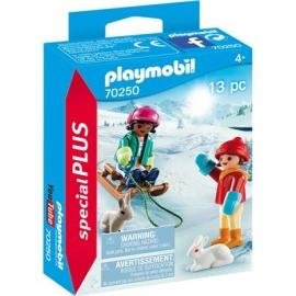 Playmobil® 70250 - Special Plus - Kinder mit Schlitten