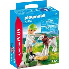 Playmobil® 70252 - Special Plus - Tierärztin mit Kälbchen