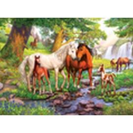 Ravensburger 12904 Puzzle Wildpferde am Fluss 300 Teile XXL