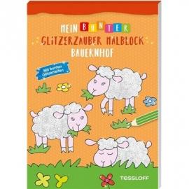 Tessloff - Mein bunter Glitzerzauber Malblock - Bauernhof