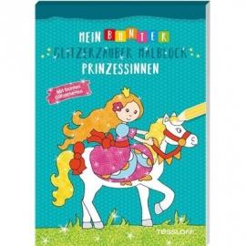 Tessloff - Mein bunter Glitzerzauber Malblock - Prinzessinnen
