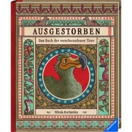 Ravensburger 55470 Ausgestorben-Buch d. verschw. Tiere-F20