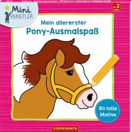 Mein allererster Pony-Ausmalspaß (Mini-Künstler)