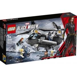 LEGO® Marvel Super Heroes 76162 Black Widow_ s Helikopter-Verfolgungsjagd