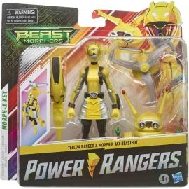 Hasbro - Power Rangers Beast Morphers Ranger und Morphin Beastbot Action-Figuren 2er-Pack