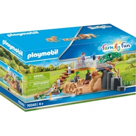Playmobil® 70343 Löwen im Freigehege