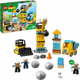 LEGO® DUPLO® 10932 - Baustelle mit Abrissbirne