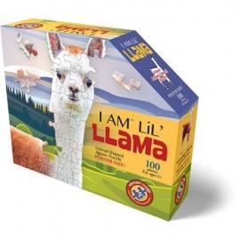 Madd Capp - Shape Puzzle Junior Lama 100 Teile