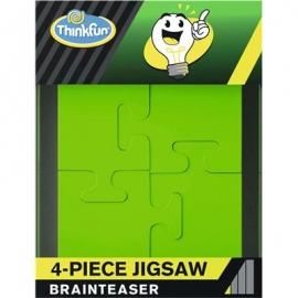ThinkFun - 4-Teile Puzzle - Brainteaser mit nur 4 Puzzleteilen