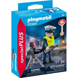 Playmobil® 70304 - Special Plus - Polizist mit Radarfalle