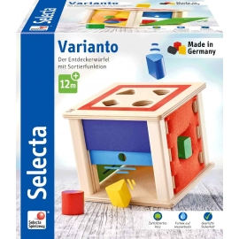 Schmidt Spiele - Selecta - Varianto, Sortierbox, 15 cm