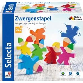 Schmidt Spiele - Selecta - Zwergenstapel, 7 Stk.