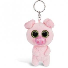 NICI - Glubschis - Schlüsselanhänger Schlenker Schwein Zuzumi, 9cm