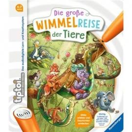 Ravensburger Buch - tiptoi - tiptoi Die große Wimmelreise der Tiere
