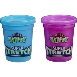 Hasbro E9444EU4 Play-Doh Slime Super Stretch, 2er Pack, sortiert
