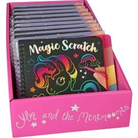 Depesche - Ylvi and the Minimoomis - Mini Magic Scratch Book