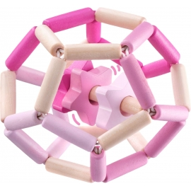 Schmidt Spiele - Selecta - Sternentanz rosa, Greiflingsball, 11,5 cm