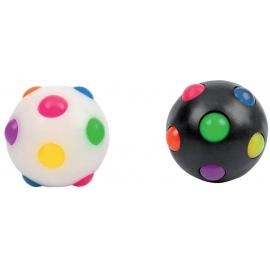 RELAX & BE CLEVER Light-Up Disco-Ball  6 cm, 2-fach sortiert