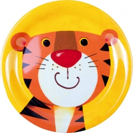 Melamin-Teller Tiger  Freche