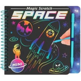 Depesche - Mini Magic Srcatch Book Space