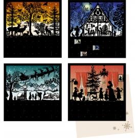 Stille Nacht, Mini-Adventskalender-sortiert  (B.Behr)