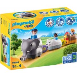 Playmobil® 70405 - 1.2.3 - Mein Schiebetierzug