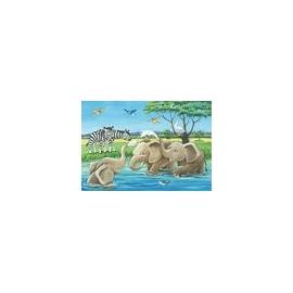 Ravensburger 05095 Puzzle Tierkinder aus aller Welt