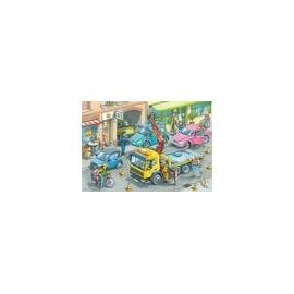 Ravensburger 05096 Puzzle Müllabfuhr und Abschleppwagen