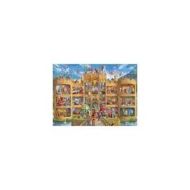 Ravensburger 12919 Puzzle Blick in die Ritterburg