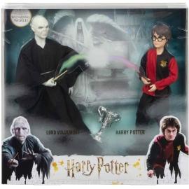 Mattel - Harry Potter Geschenkset für Sammler mit Voldemort-Puppe und Harry Pott