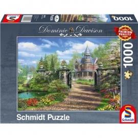Schmidt Spiele - Puzzle - Idyllisches Landgut, 1000 Teile
