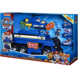 Spin Master - Paw Patrol - Chases 5-in-1 Ultimate Police Cruiser