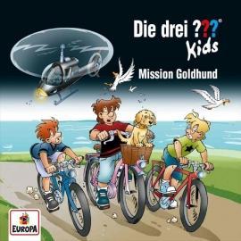 Europa - CD Die drei ??? Kids Mission Goldhund, Folge 65